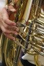 Free Tuba Player - Detail Stock Image - 10051421