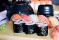 Free Sushi Set For Dinner Stock Photography - 10056892