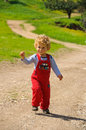 Free Little Boy On A Trail Stock Images - 10058984