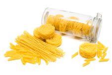Free Pasta In Glass Jar Stock Image - 10051501