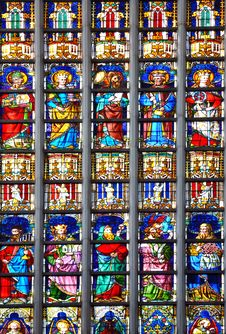 Free Stained Glass Royalty Free Stock Image - 10052906