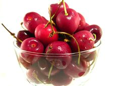 Free Bing Cherries Royalty Free Stock Images - 10052939