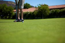 Free Golf Shots Royalty Free Stock Photography - 10053357