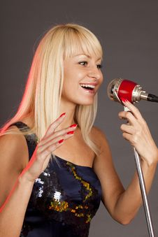 Free Singer Stock Photography - 10053552