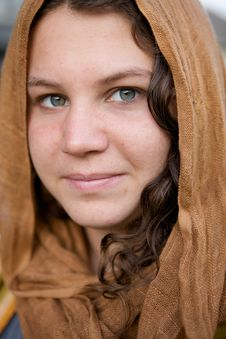 Free Beautiful Girl With Hood Royalty Free Stock Photography - 10053567