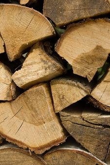 Free Pile Of Wooden Logs Royalty Free Stock Photography - 10056407