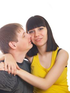 Free Young Couple In Love Stock Photos - 10056413