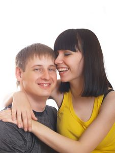Free Young Couple In Love Stock Photo - 10056420