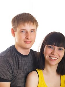 Free Young Couple In Love Stock Photos - 10056443