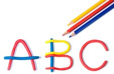 Free The Characters ABC Stock Photography - 10056462