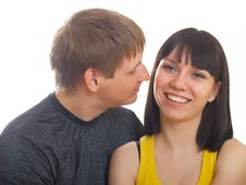Free Young Couple In Love Royalty Free Stock Image - 10056766
