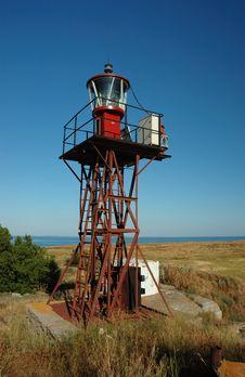 Free Lighthouse On The Berezan Island,Ukraine Stock Image - 10057161