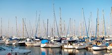 Free Series Of Panoramic Images From The Harbor With Ya Royalty Free Stock Image - 10058176