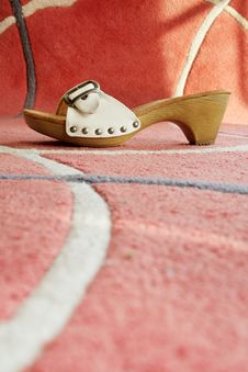 Free Girls Shoes Royalty Free Stock Photography - 10058317