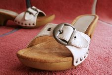 Free Girls Shoes Royalty Free Stock Photography - 10058377