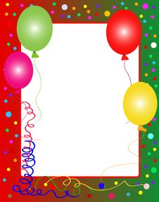Free Party Background With Balloons Royalty Free Stock Image - 10058706