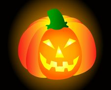 Free Halloween Pumpkin Royalty Free Stock Photos - 10058758