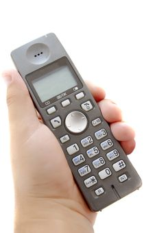 Free Dect Phone In Hand Stock Images - 10058764