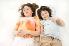 Free The Sleeping Children Royalty Free Stock Photography - 10059447