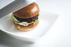 Free Beef Burger Takeaway Royalty Free Stock Images - 100551879
