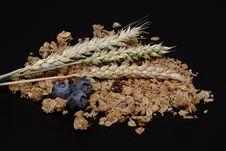 Free Muesli, Granola, Blueberries, Grain Stock Photos - 100575633