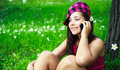 Free Pretty Girl Talking On The Cellphone Royalty Free Stock Photo - 10061655
