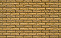 Free Even Yellow, Rough Brick Wall Stock Photo - 10061670