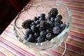 Free Blueberries And Blackberries Stock Image - 10062131