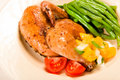 Free Cornish Hen Meal Stock Image - 10063971