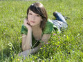 Free Young And Beautiful Girl Under The Sun Stock Photos - 10064203
