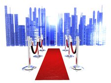 Free Red Carpet Stock Photography - 10060302