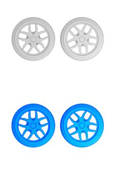 Free Wheel Tires Stock Images - 10060344
