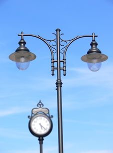 Free Old Lamppost Royalty Free Stock Photo - 10060365