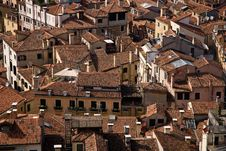 Free Venice From Above, Italy Royalty Free Stock Photos - 10060848