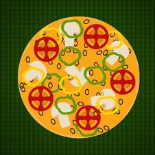 Free Pizza With Mushrooms Royalty Free Stock Image - 10060896