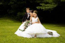 Free White Bride Royalty Free Stock Photo - 10061115