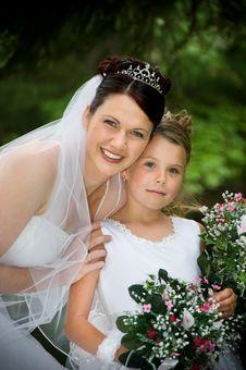 Free White Bride Stock Image - 10061181