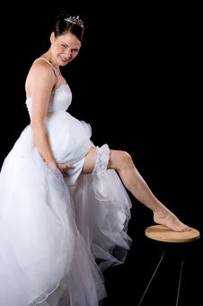 Free White Bride Stock Photo - 10061250