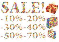 Free Sale Shopping Element Stock Image - 10061471