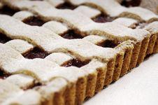Free Raspberry Jam Pie Royalty Free Stock Photos - 10062758