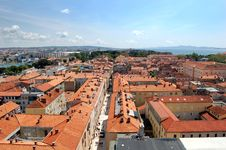 Free Red Roofs Of Mediterranean Buildings Stock Image - 10062961