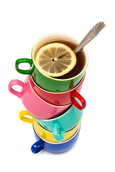 Free Color Cups Stock Photography - 10063362