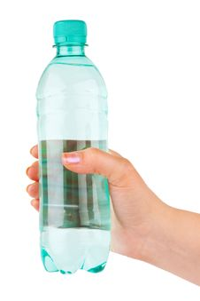 Free Hand With Bottle Of Water Stock Images - 10063524