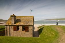 Free Scottish Cottage Stock Photo - 10063620