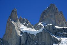 Free Mount Fitz Roy Argentina Aka The Smoking Mountain Stock Image - 10064031