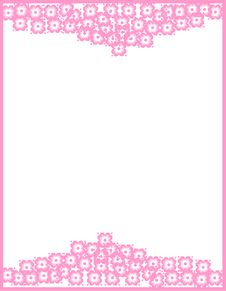 Free Flower Frame Royalty Free Stock Photos - 10065548