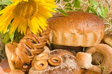 Free It Is A Lot Of Bread. Royalty Free Stock Images - 10065679