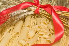 Free Macaroni, Noodles, Wheat Ears. Royalty Free Stock Image - 10066096
