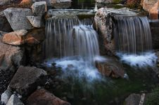 Free Stream Waterfall Royalty Free Stock Image - 10066146