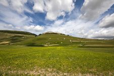 Umbria Landscape Stock Image